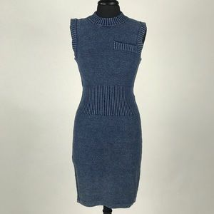 T by Wang Knot Mini Dress